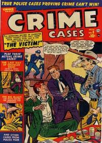 Cover Thumbnail for Crime Cases Comics (Marvel, 1950 series) #8