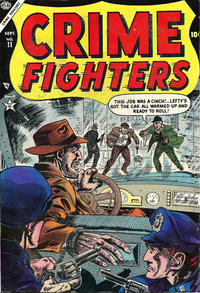 Cover Thumbnail for Crime Fighters (Marvel, 1954 series) #11