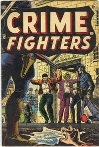 Cover Thumbnail for Crime Fighters (Marvel, 1954 series) #12