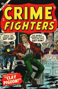 Cover Thumbnail for Crime Fighters (Marvel, 1954 series) #13