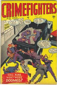 Cover Thumbnail for Crimefighters (Marvel, 1948 series) #3