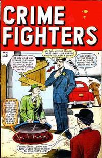 Cover Thumbnail for Crimefighters (Marvel, 1948 series) #5