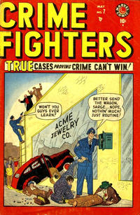 Cover Thumbnail for Crimefighters (Marvel, 1948 series) #7