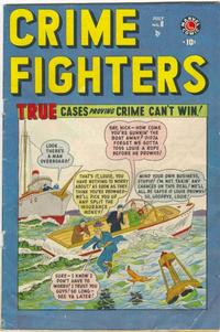 Cover Thumbnail for Crimefighters (Marvel, 1948 series) #8