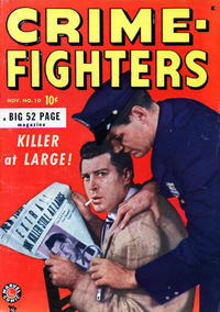 Cover Thumbnail for Crimefighters (Marvel, 1948 series) #10