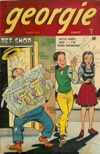 Cover Thumbnail for Georgie Comics (Marvel, 1945 series) #2