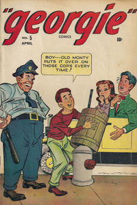 Cover Thumbnail for Georgie Comics (Marvel, 1945 series) #5
