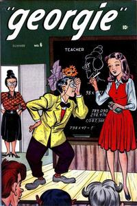 Cover Thumbnail for Georgie Comics (Marvel, 1945 series) #6