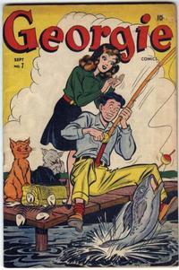 Cover Thumbnail for Georgie Comics (Marvel, 1945 series) #7