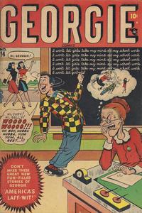 Cover Thumbnail for Georgie Comics (Marvel, 1945 series) #14