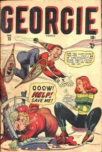 Cover Thumbnail for Georgie Comics (Marvel, 1945 series) #15
