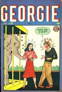 Cover Thumbnail for Georgie Comics (Marvel, 1949 series) #23