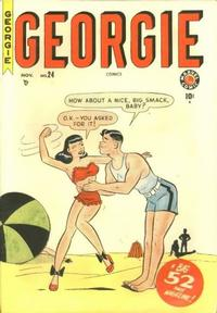 Cover Thumbnail for Georgie Comics (Marvel, 1949 series) #24