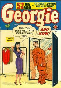 Cover Thumbnail for Georgie Comics (Marvel, 1949 series) #26