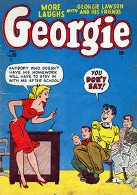Cover Thumbnail for Georgie Comics (Marvel, 1949 series) #28