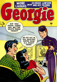 Cover Thumbnail for Georgie Comics (Marvel, 1949 series) #29