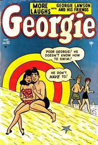 Cover Thumbnail for Georgie Comics (Marvel, 1949 series) #32