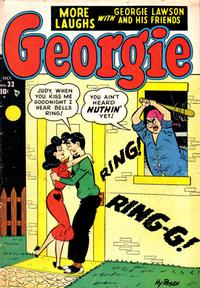 Cover Thumbnail for Georgie Comics (Marvel, 1949 series) #33