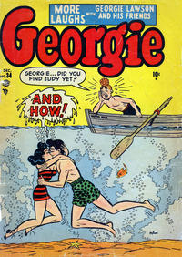 Cover Thumbnail for Georgie Comics (Marvel, 1949 series) #34
