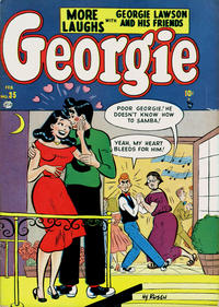 Cover Thumbnail for Georgie Comics (Marvel, 1949 series) #35