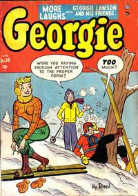 Cover Thumbnail for Georgie Comics (Marvel, 1949 series) #36