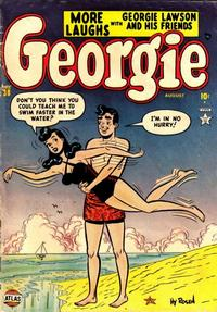 Cover Thumbnail for Georgie Comics (Marvel, 1949 series) #38