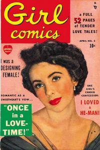 Cover Thumbnail for Girl Comics (Marvel, 1949 series) #3