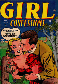 Cover Thumbnail for Girl Confessions (Marvel, 1952 series) #14