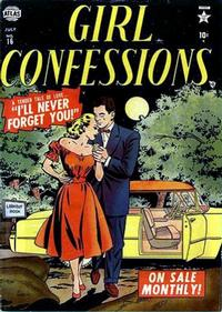 Cover Thumbnail for Girl Confessions (Marvel, 1952 series) #16