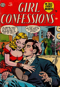 Cover Thumbnail for Girl Confessions (Marvel, 1952 series) #22