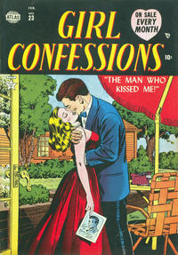 Cover Thumbnail for Girl Confessions (Marvel, 1952 series) #23