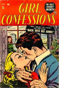 Cover Thumbnail for Girl Confessions (Marvel, 1952 series) #25