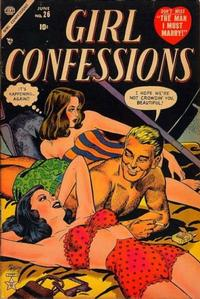 Cover Thumbnail for Girl Confessions (Marvel, 1952 series) #26