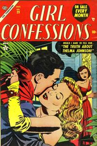 Cover Thumbnail for Girl Confessions (Marvel, 1952 series) #29