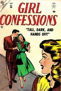 Cover Thumbnail for Girl Confessions (Marvel, 1952 series) #30