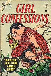 Cover Thumbnail for Girl Confessions (Marvel, 1952 series) #31