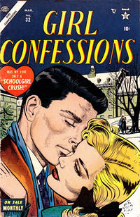 Cover Thumbnail for Girl Confessions (Marvel, 1952 series) #32