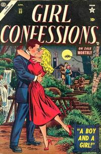 Cover Thumbnail for Girl Confessions (Marvel, 1952 series) #33