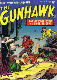 Cover Thumbnail for The Gunhawk (Marvel, 1950 series) #18