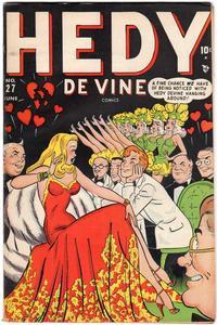Cover Thumbnail for Hedy De Vine Comics (Marvel, 1947 series) #27