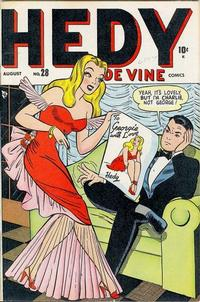 Cover Thumbnail for Hedy De Vine Comics (Marvel, 1947 series) #28