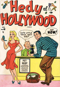 Cover Thumbnail for Hedy of Hollywood Comics (Marvel, 1950 series) #40
