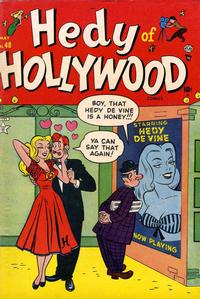 Cover Thumbnail for Hedy of Hollywood Comics (Marvel, 1950 series) #48