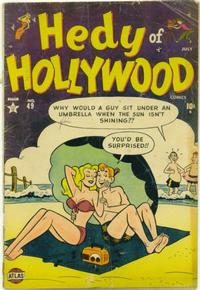 Cover Thumbnail for Hedy of Hollywood Comics (Marvel, 1950 series) #49