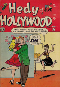Cover Thumbnail for Hedy of Hollywood Comics (Marvel, 1950 series) #50