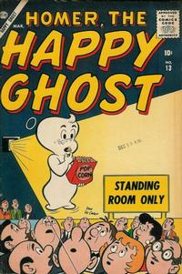 Cover Thumbnail for Homer, the Happy Ghost (Marvel, 1955 series) #13