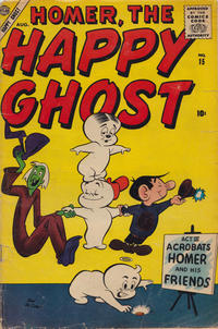 Cover Thumbnail for Homer, the Happy Ghost (Marvel, 1955 series) #15