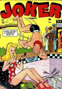 Cover Thumbnail for Joker Comics (Marvel, 1942 series) #14