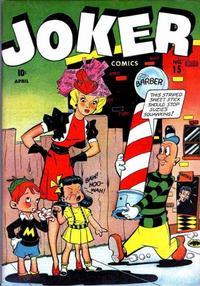 Cover Thumbnail for Joker Comics (Marvel, 1942 series) #15