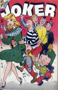 Cover Thumbnail for Joker Comics (Marvel, 1942 series) #26